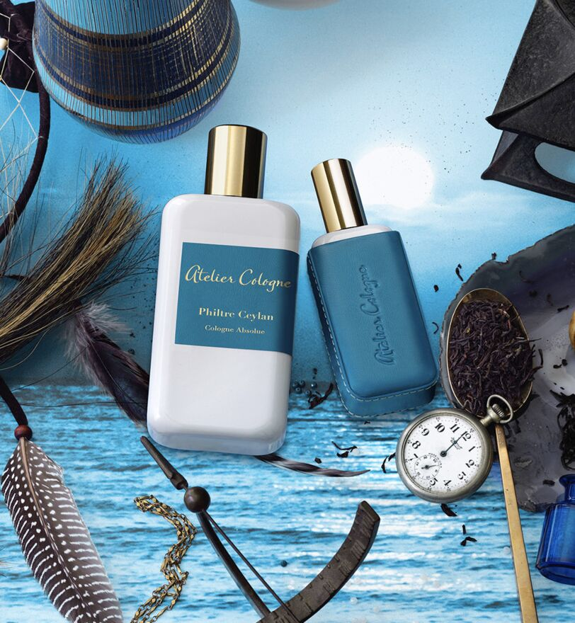 Oriental fragrance Philtre Ceylan created by Atelier Cologne